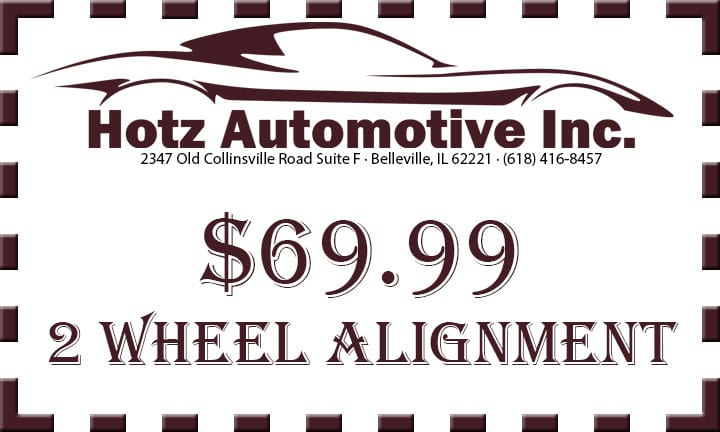 wheel alignment coupon in belleville il