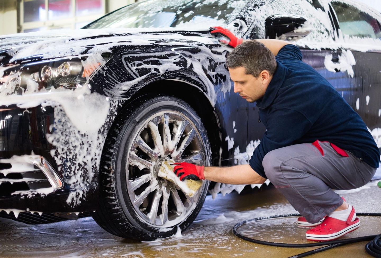 routine maintenance car wash