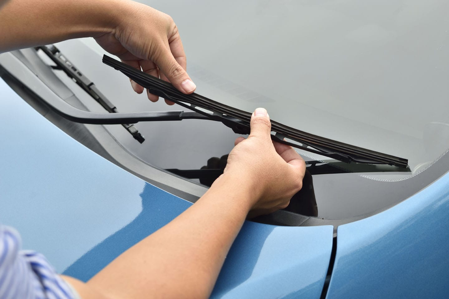 routine maintenance wiper blades