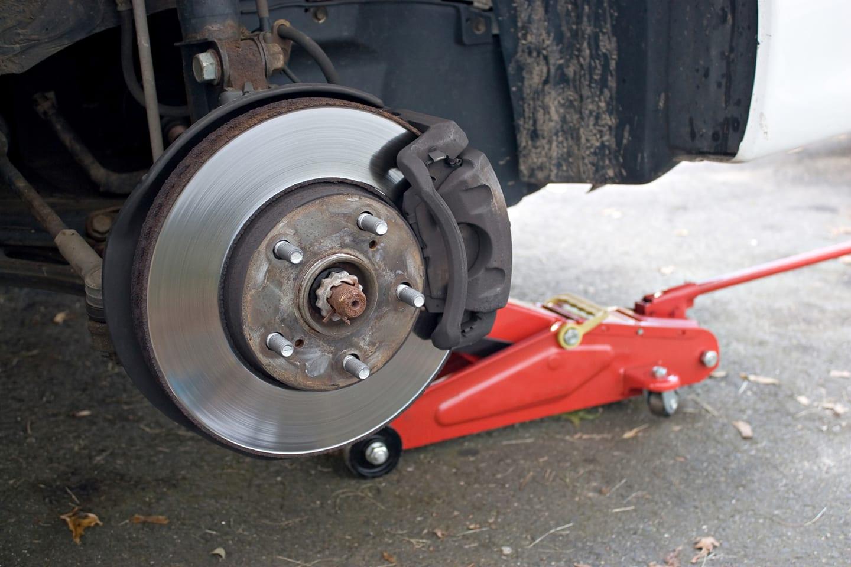 road trip brake check
