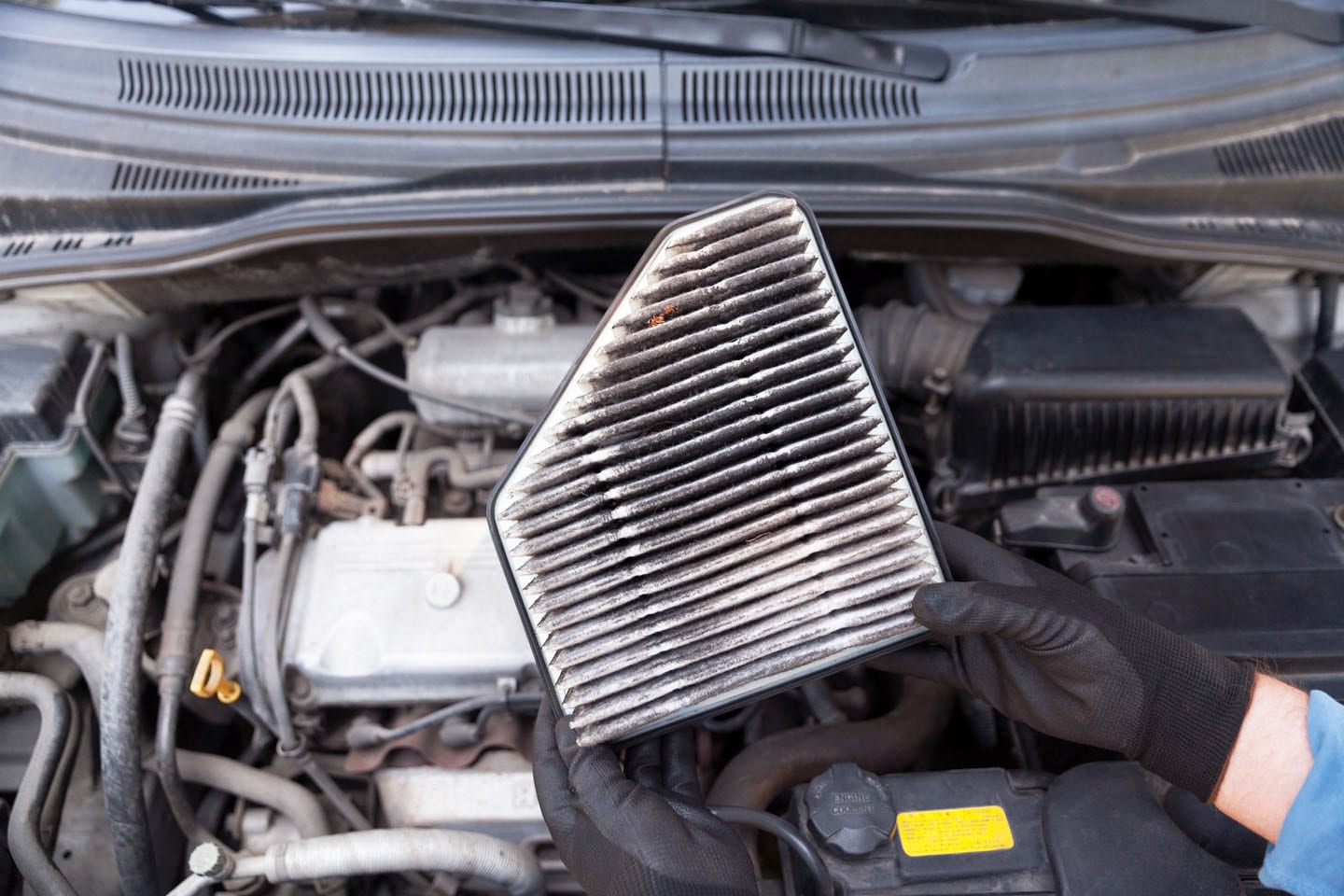 dirty air filters and auto air conditioning